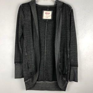 Mossimo Hooded Long Sleeve Open Cardigan S…
